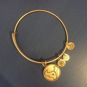 Alex and Ani gold NFL Houston Texans bracelet
